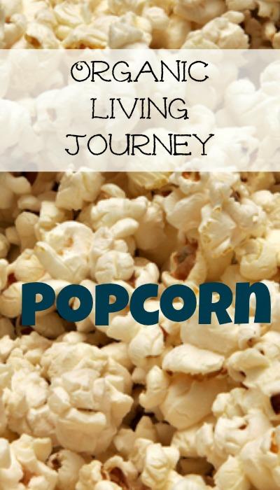 organic living journey popcorn