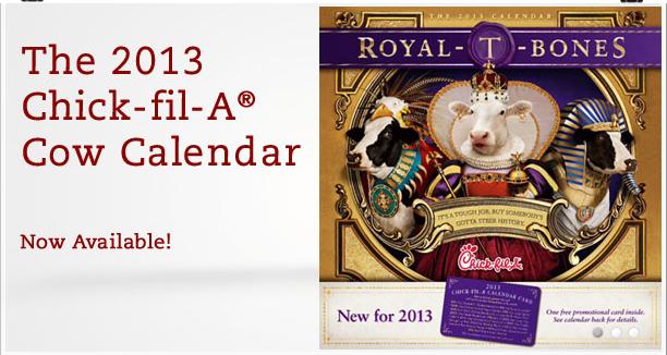 April Calendar Card Chick Fil A : Chick fil a calendars available southern savers