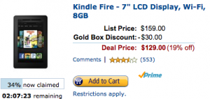 Kindle Fire Discount