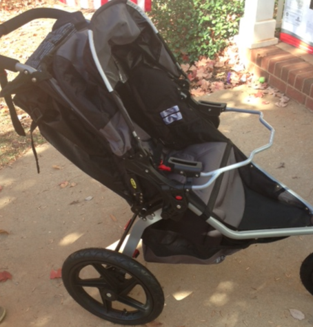 This Was The First Time That Weve Used A Car Seat Adapter With BOB Stroller
