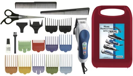 Barber Guards : Over at Frys.com , you can grab a Wahl 20 Piece Color Pro Hair Clipper ...