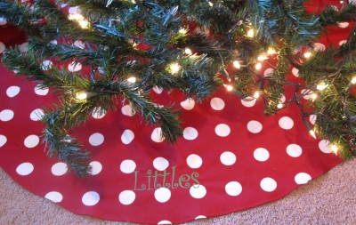 bellechic personalized christmas tree skirts 1999