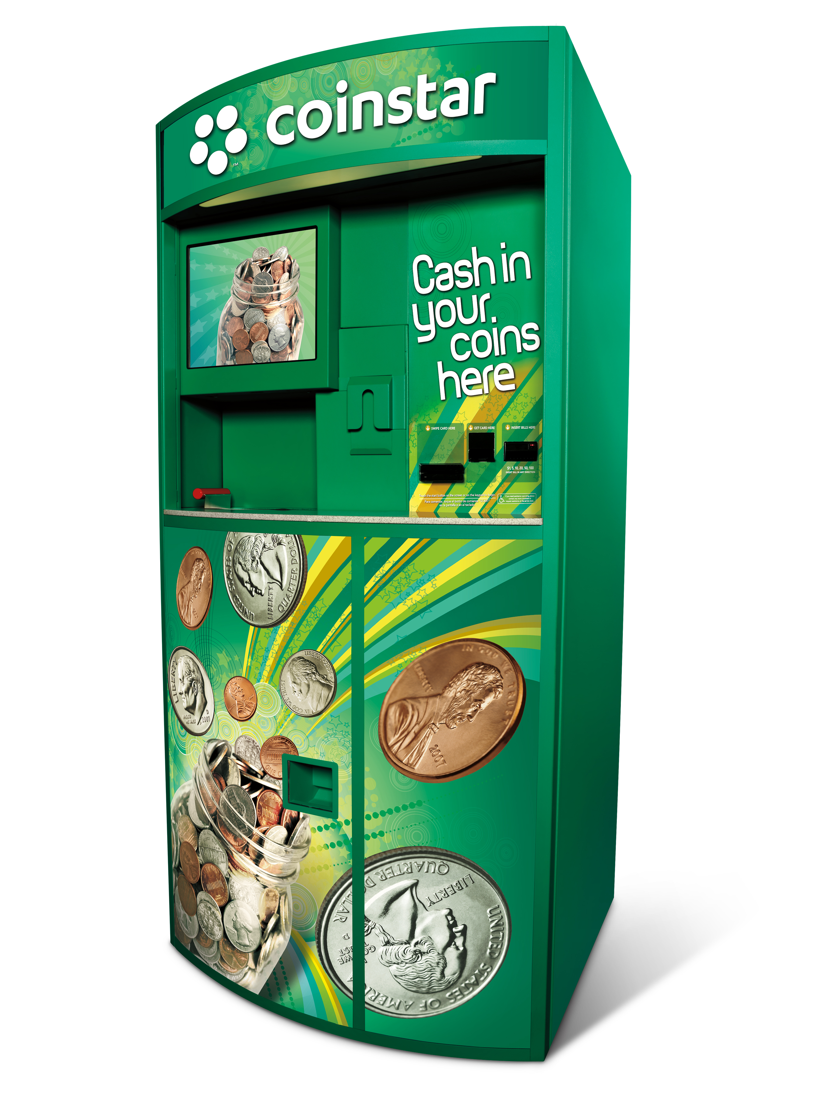 where can i find a coin counting machine