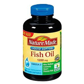 Nature  Fish  on Nature Made Fish Oil