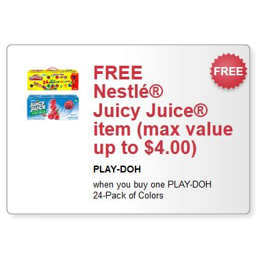 Play doh coupons