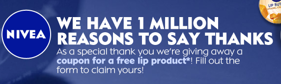 Free Nivea Coupon