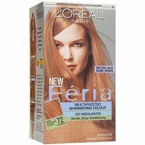 loreal hair color: