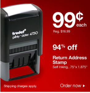 Staples Stamp Deal