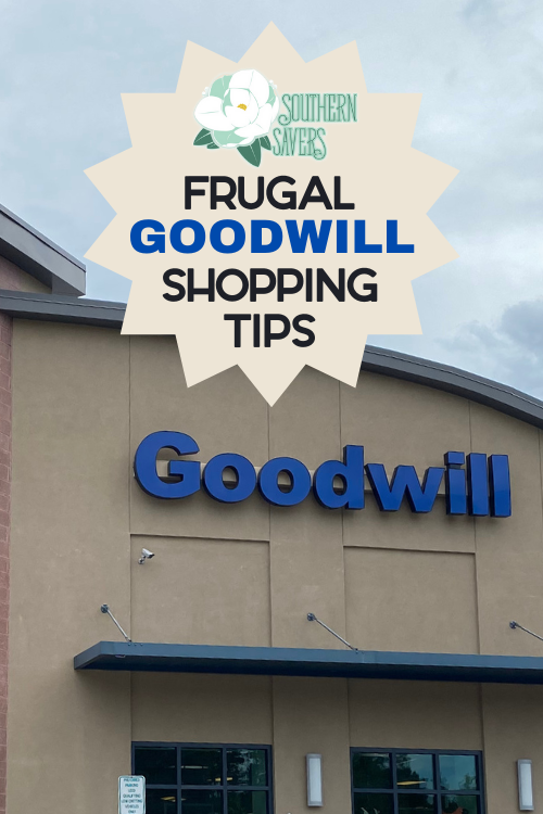 There are lots of ways to save money on clothes, but one of my favorites is Goodwill. Here are my frugal Goodwill shopping tips to save you money!