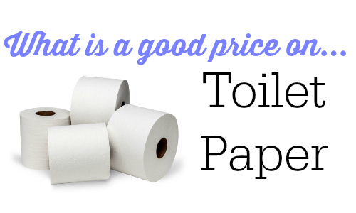 good price on bath tissue