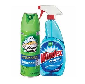 windex & scrubbing bubbles coupons