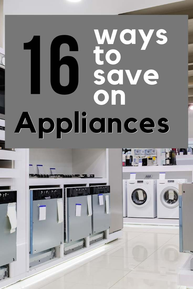 There are great ways to save on appliances! These tips can save you hundreds of dollars on your big purchase. We used them to save almost 60% off on a new Refrigerator!