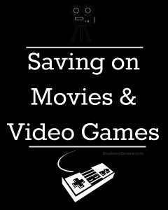 Here are some simple was to save money on video games and movies.  Those expenses can add up before you know it!