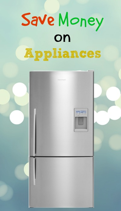 saving money on appliances