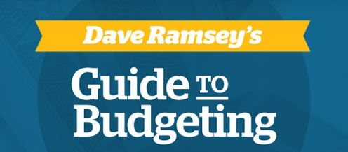 free dave ramsey guide to budgeting