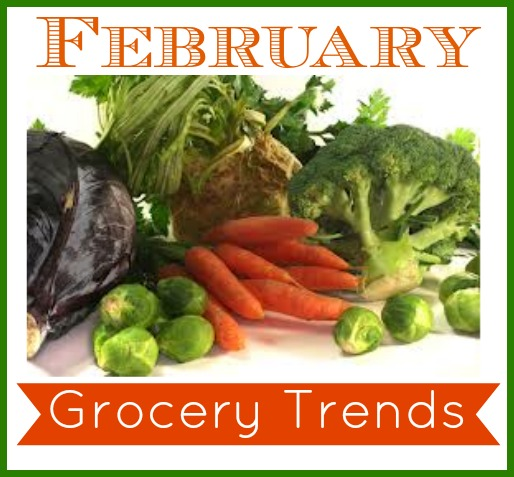 What to buy in February.  Fruit and vegetable deals in February.