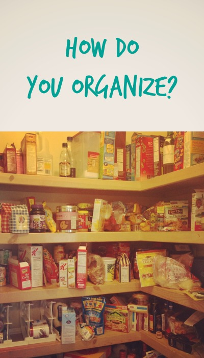 Help Wanted how do you organize your stockpile