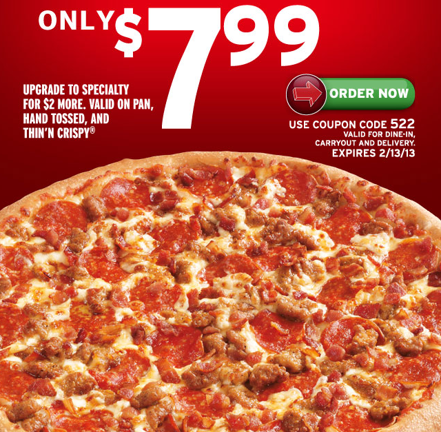 Pizza hut deals