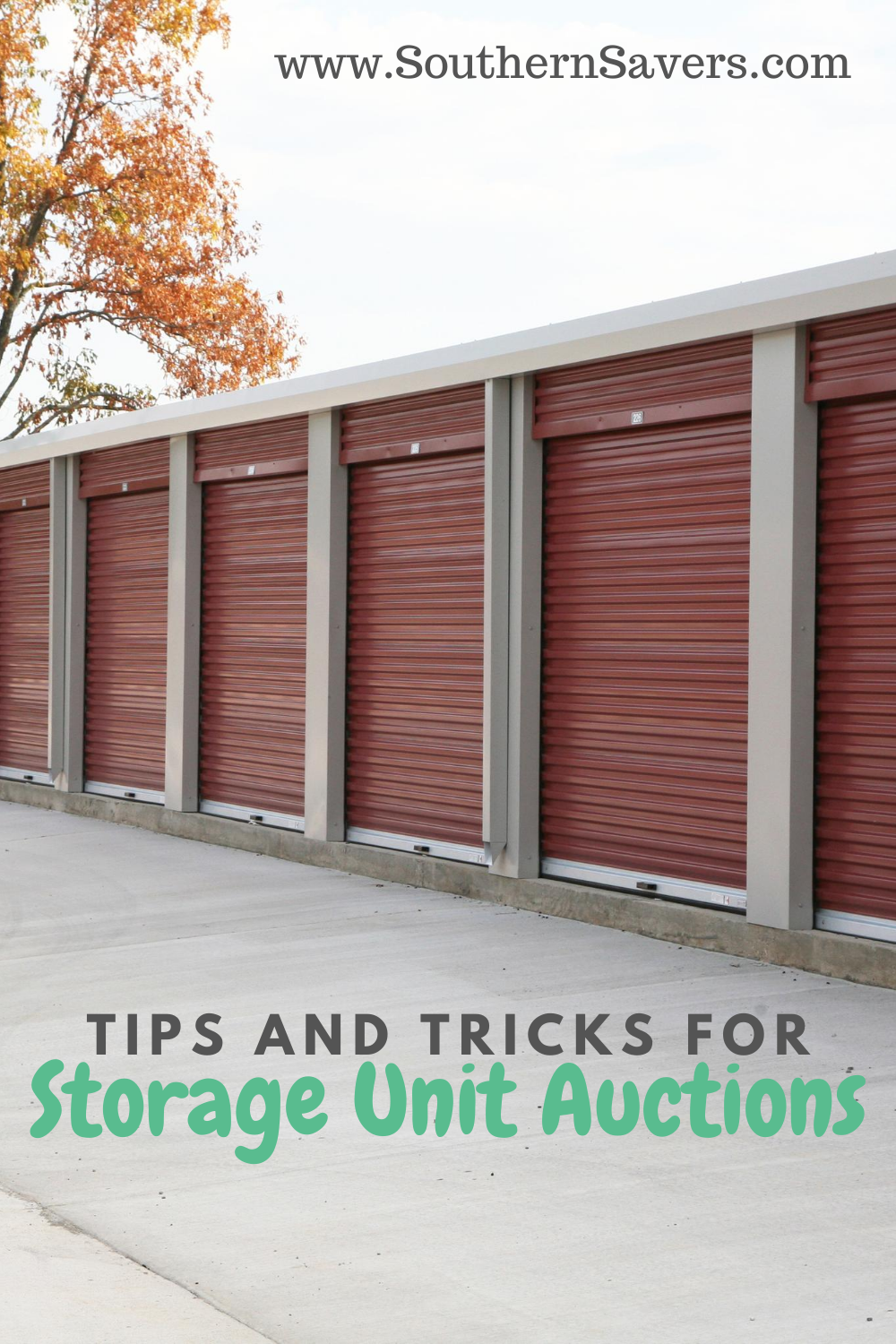Storage unit auctions are risky, but the risk can pay off. See these tips and tricks to decide if going to one is right for you!