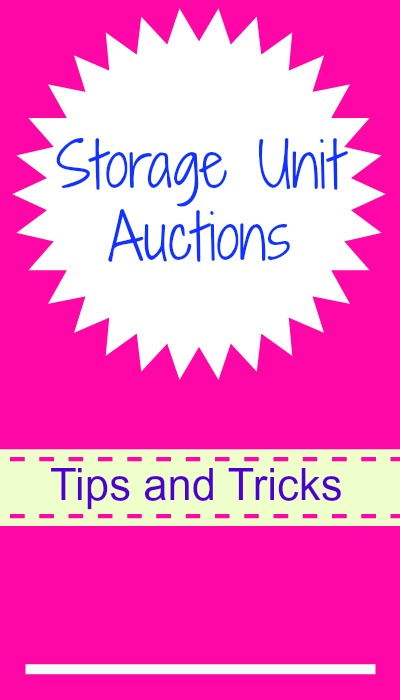 Storage unit auctions southern savers for Auction advice