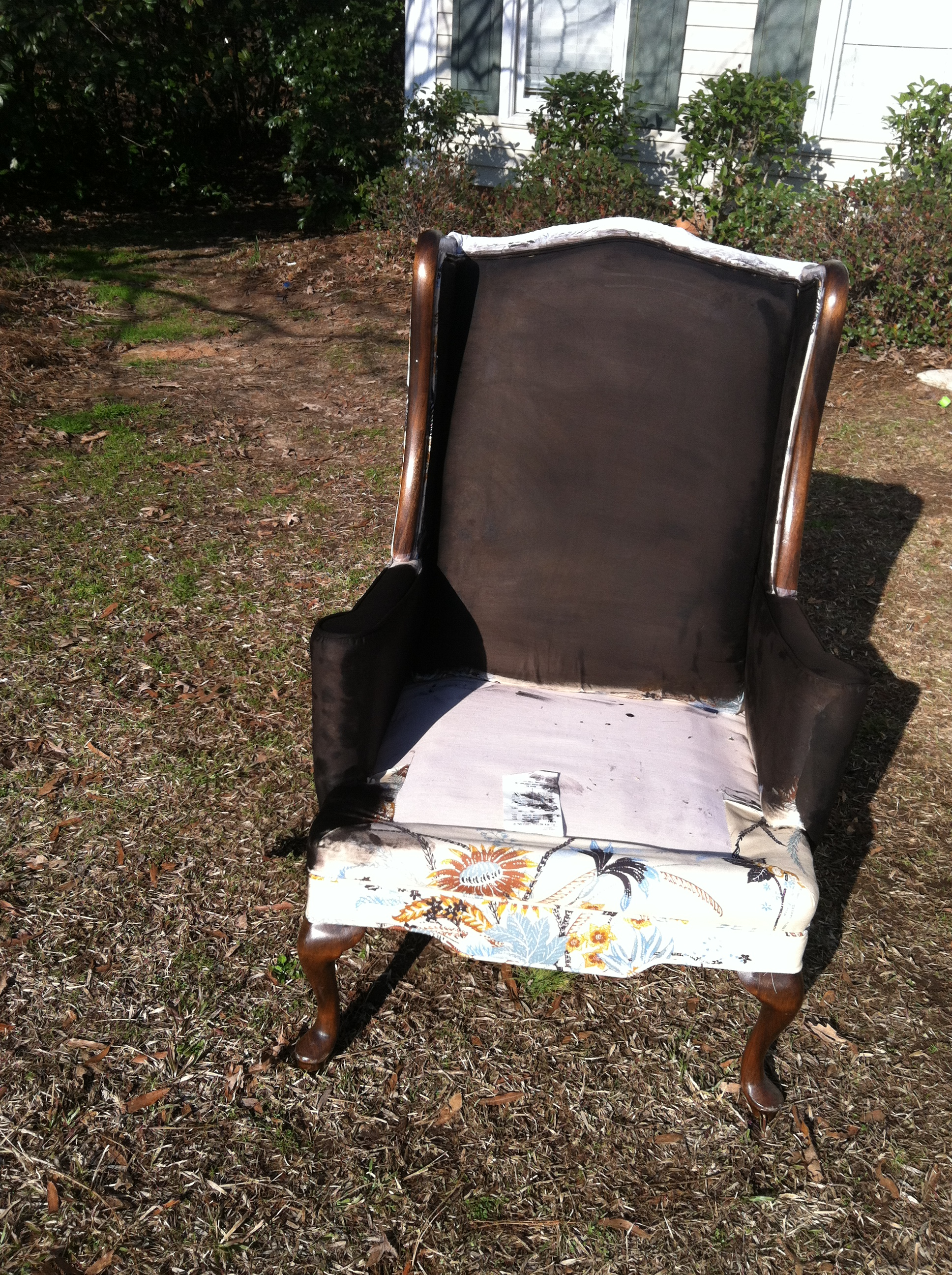 DIY Painted Chair Upholstery Southern Savers