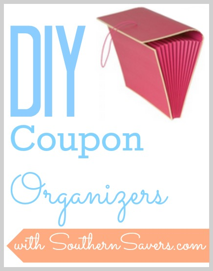 On the road to save money?  Here are some DIY coupon organizers that are really helpful!