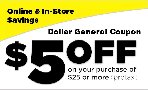 dollar general coupons 2019