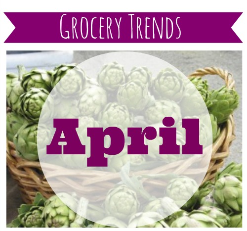 Fruits and vegetables with the best deals.  What to buy in April.