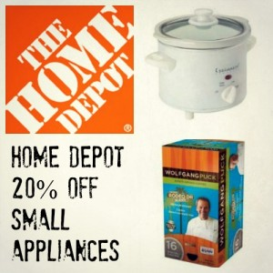 Home depot appliance coupon