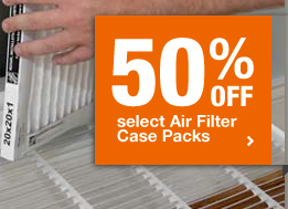 Home Depot Air Filters Sale