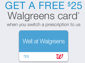 Walgreens: $25 Gift Card with Prescription Transfer :: Southern Savers