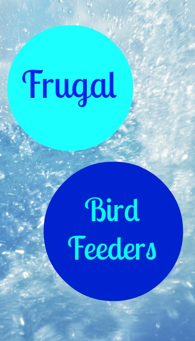 Frugal Knockoff Birdfeeders