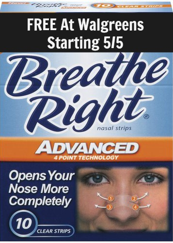 walgreens deal on breathe right
