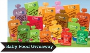 Ella's Kitchen Baby Food Giveaway