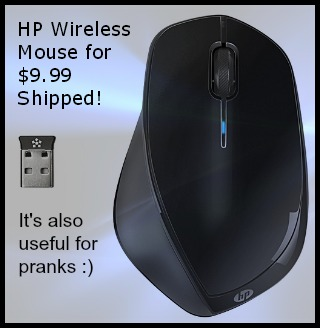 HP Wireless Laser Mouse