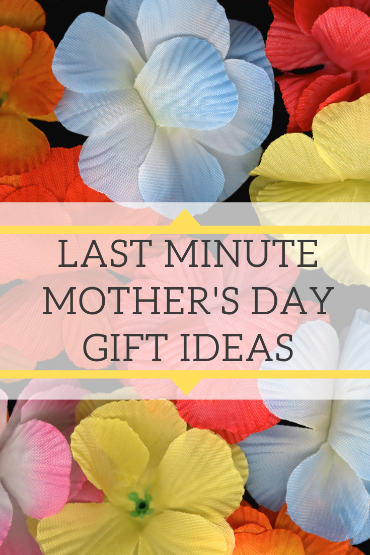 Here is a complete guide to last minute Mother's Day gift ideas that you can go pick up at the store if you haven't had a chance yet.