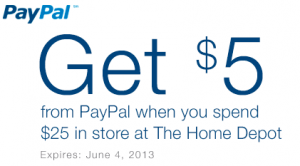 Paypal Home Depot Coupon