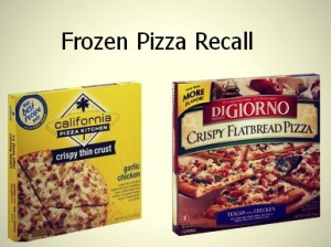 Frozen pizza recall