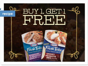 Kraft Fresh Takes Coupon