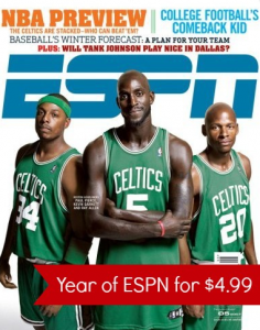 ESPN Magazine Subscription Deal