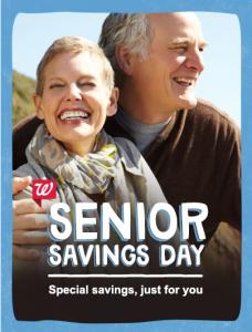 Walgreens Senior Savings Day