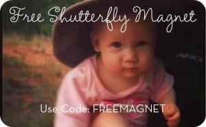 free shutterfly 3x5 magnet