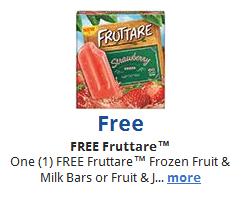 Kroger eCoupon Free Fruttare