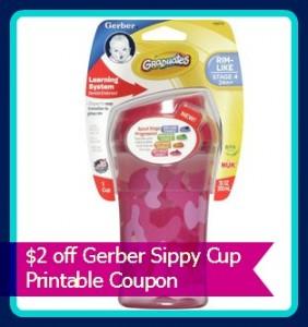 gerber graudates sippy cup coupon