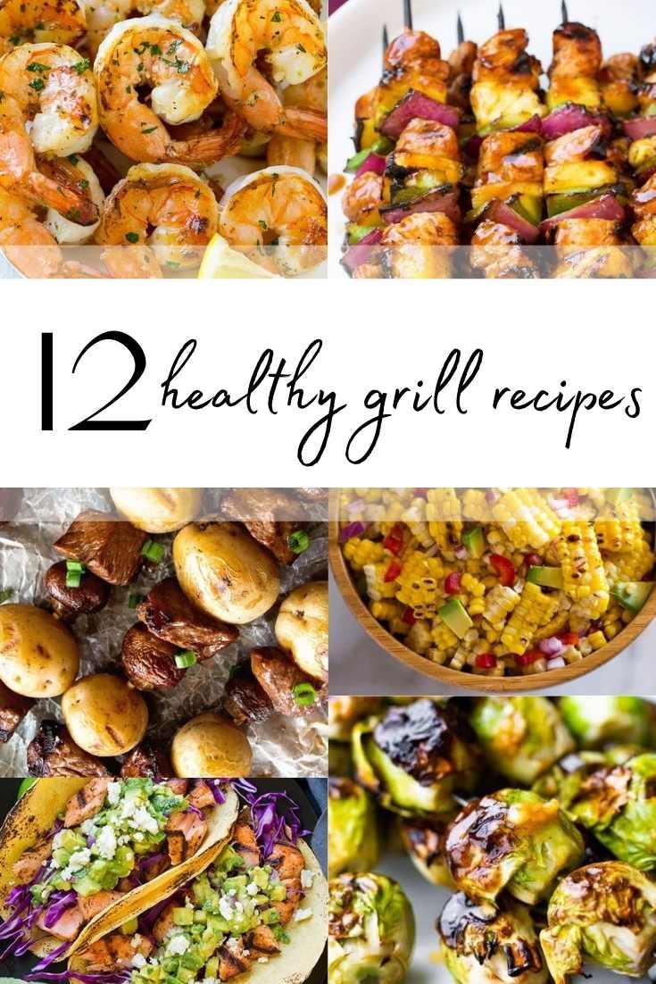 healthy grill recipes