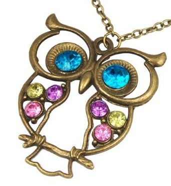 owl pendant necklace