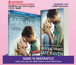 safe haven dvd & book deal