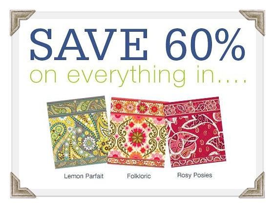 Vera bradley coupons sale items