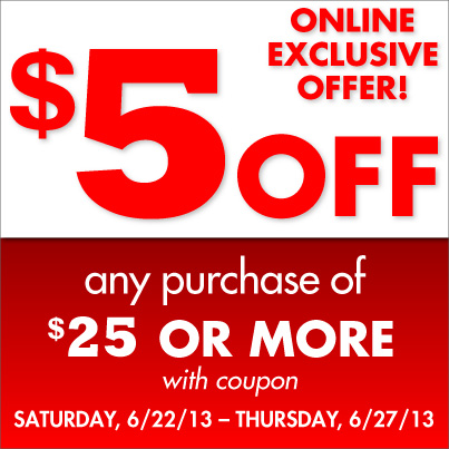 Family Dollar Coupon: $5 off $25 Purchase :: Southern Savers