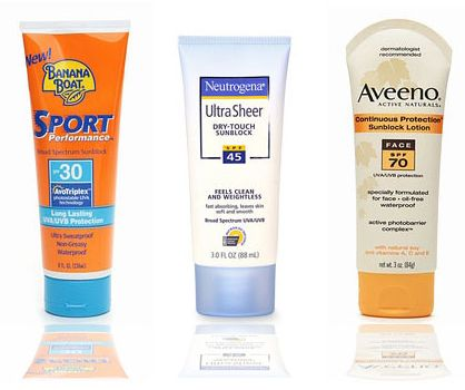 Sunscreen Coupons